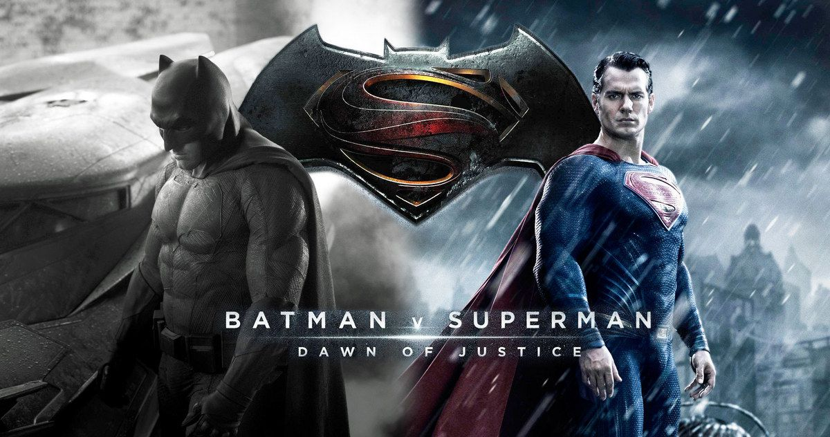 Batman V Superman Footage Debuts At Comic Con Ben Affleck Henry Cavill And Gal Gadot Hit The Stage With Director Zack Snyder To Show A