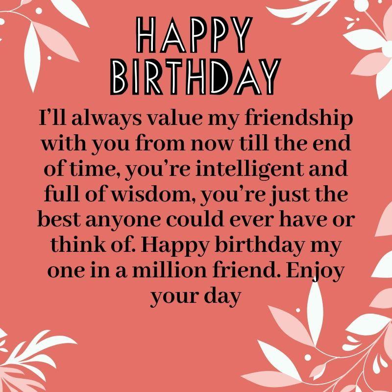 Download Sweet Happy Birthday Paragraph For Best Friend Birthday