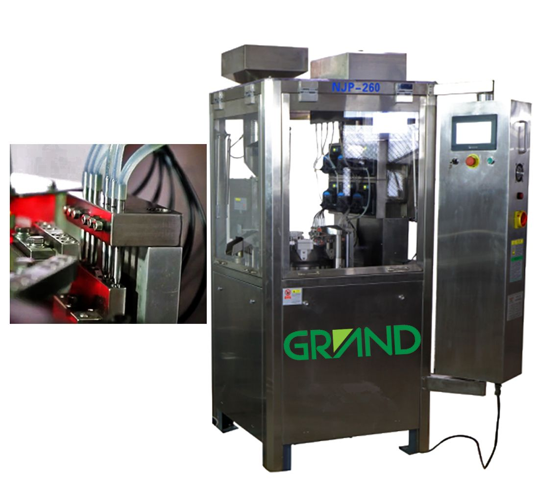 Liquid Capsule Filling Machine Blister Packing Machine Internal Design Locker Storage