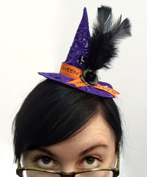 Voodoo Womens Adult Witchcraft Spellcaster Costume Top Hat Headband