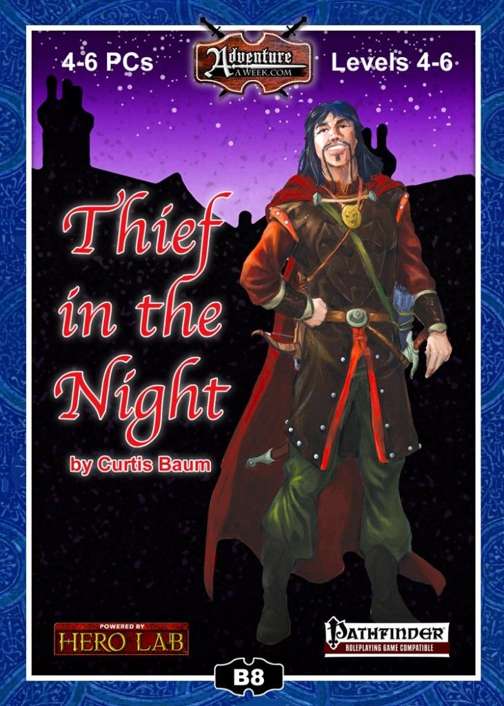 Pathfinder module by Curtis Baum Thief in the Night | Role