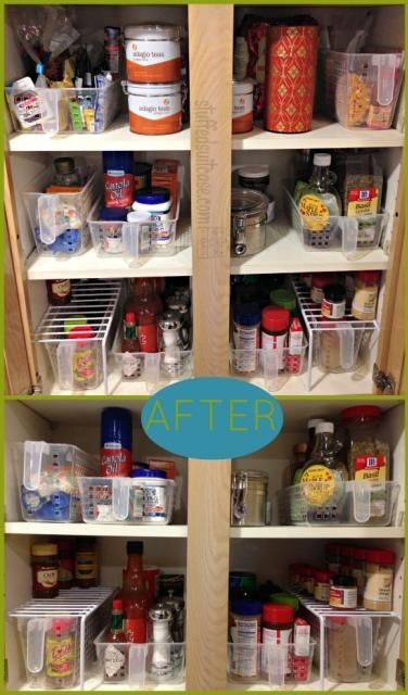 Kathe With An E Basket Organizationkitchen Cabinet