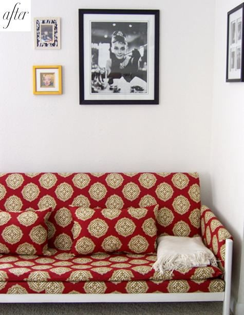 Amazing couch makeover