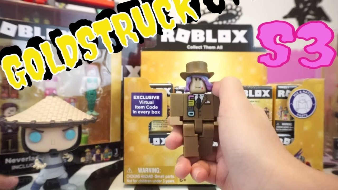 Sneak Peek At New Roblox Toys Complete Celebrity Collection