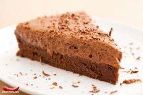 bolo de mouse de chocolate...uma delícia!!!