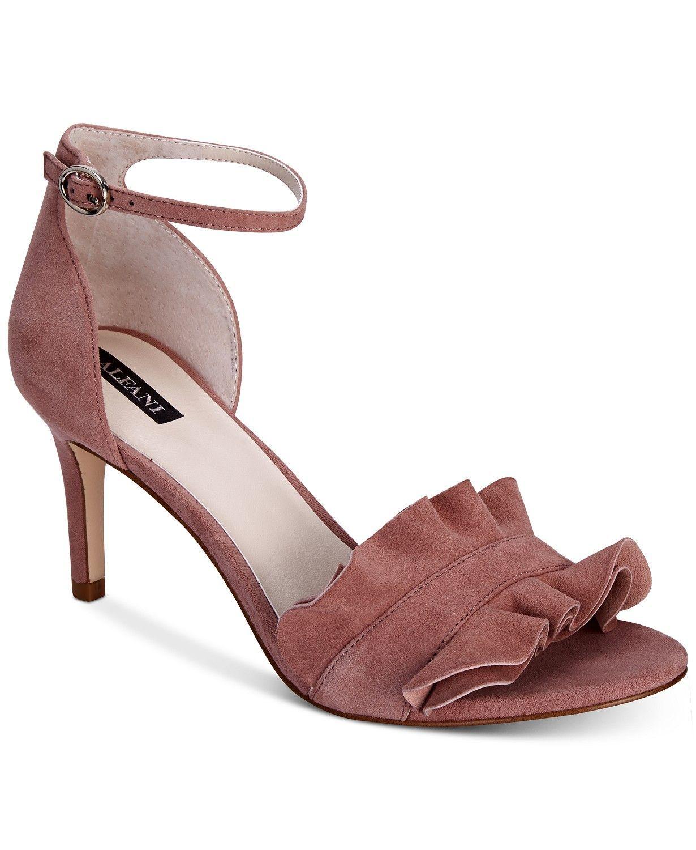3f587a31e60e Alfani Women s Grayy Ruffle Dress Sandals