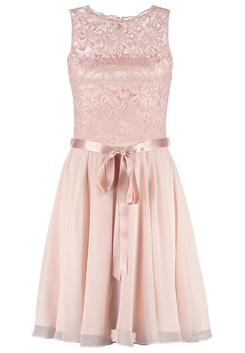 Traumhaftes Kleid in zartem Rosa. Swing Cocktailkleid / festliches ...