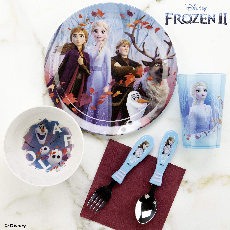 Zak Designs Disney Olaf Sven Frozen Plate Bowl Cup Toddler Childrens Dinner Set