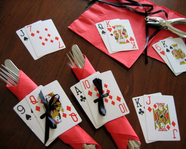 card shark casino party ideas - Casino Decorations