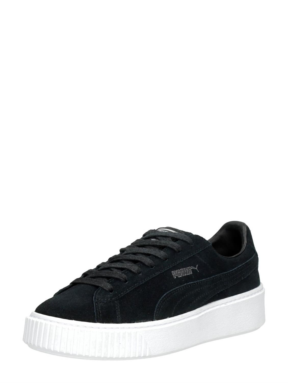 Zwarte Puma Suède Platform dames sneakers | Sneaker ...