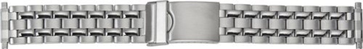 Timex Watch Bands Q7B865GZ 16mm Metal Stainless Steel Silver Watch Strap by Timex Watch Bands -- Awesome products selected by Anna Churchill