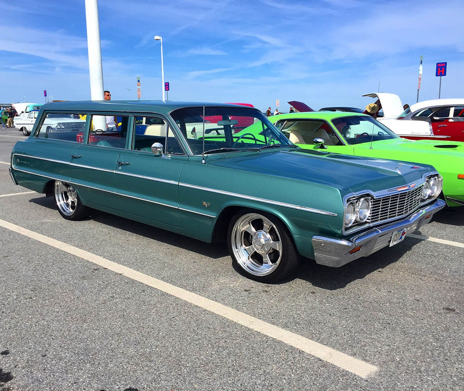 1956 ford country squire smcars net car blueprints forum - 1964 Chevrolet Biscayne Custom Wagon Horse Power Pinterest Chevrolet Cars And Planes