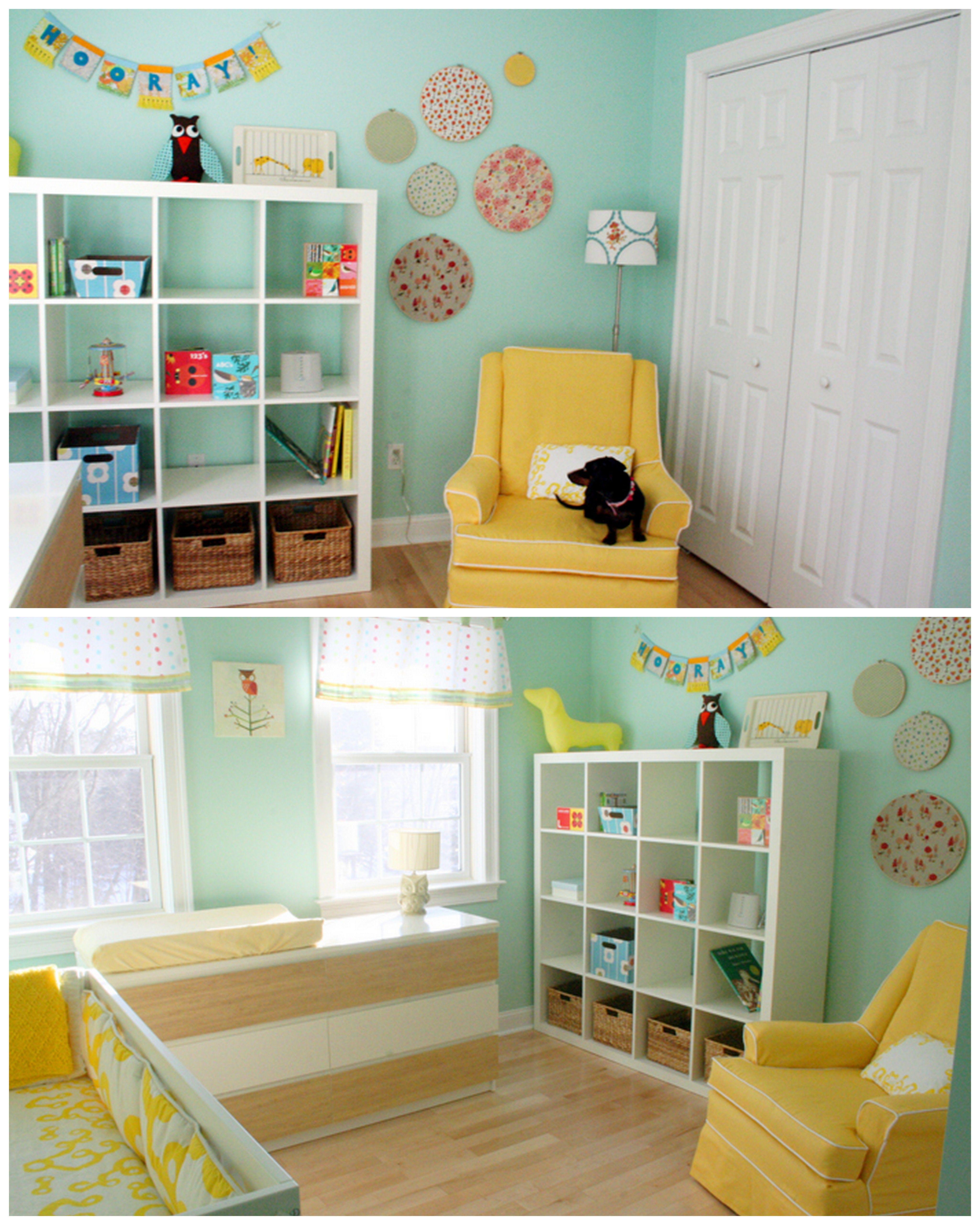 Mint & Mustard Nursery Love The Color Scheme And Weenie