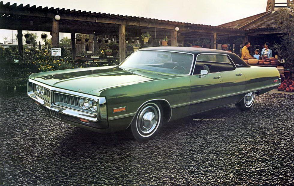1972 Chrysler Newport Custom Four Door Hardtop My Mom S Was Light