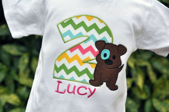 Hey, I found this really awesome Etsy listing at https://www.etsy.com/listing/183448250/personalized-girls-puppy-dog-birthday