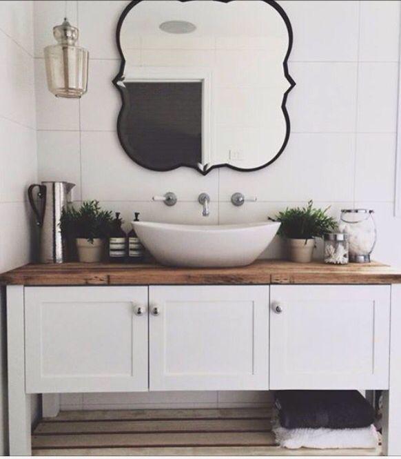 Lovely | Farmhouse bathroom vanity, Bathroom vanities for ...