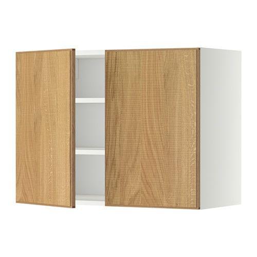 Ikea Türen metod wandschrank mit böden und 2 türen ikea mit versetzbarem boden