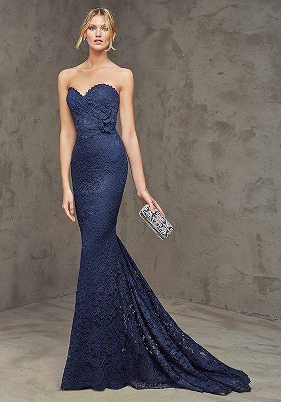 Pronovias Cocktail FIORE Bridesmaid Dress - The Knot | Unbedingt ...