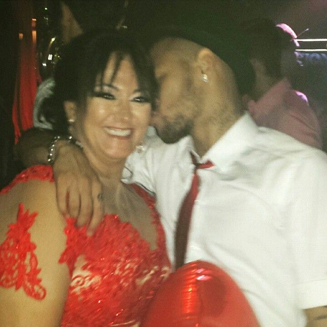 Ney And His Mother Nadine Perfeitos Neymar Neymarjr Njr Ney