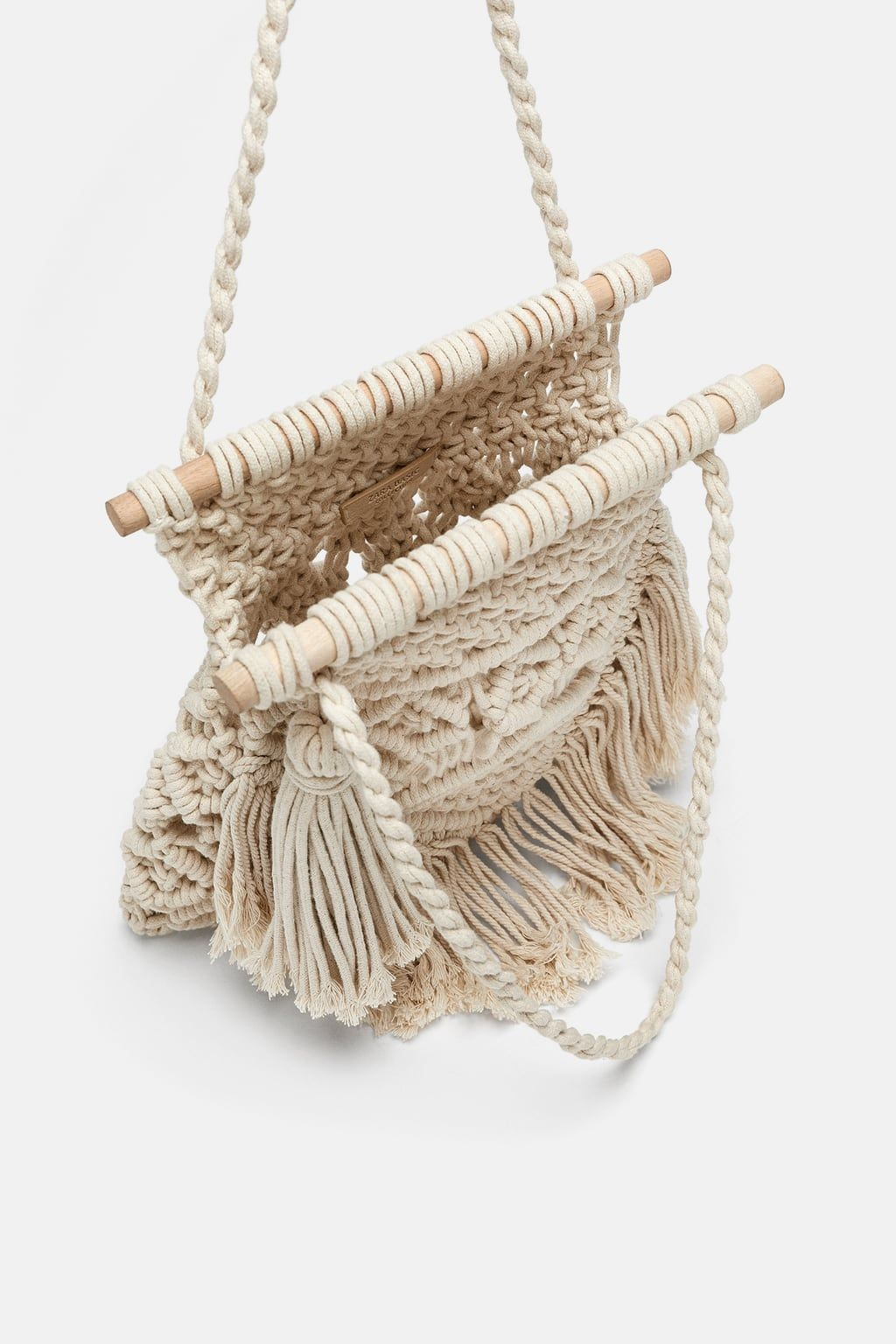 e82783f8a7 Image 4 of FABRIC SHOPPER from Zara Crochet Bracelet