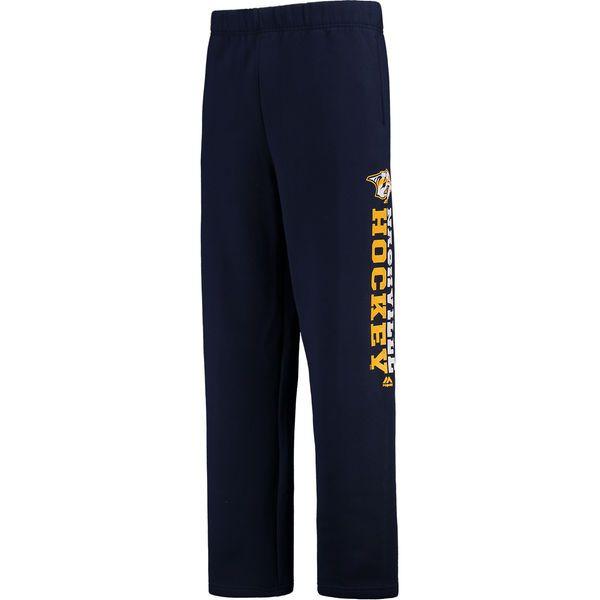 Nashville Predators Majestic Feel the Pressure Fleece Pant - Navy - $39.99