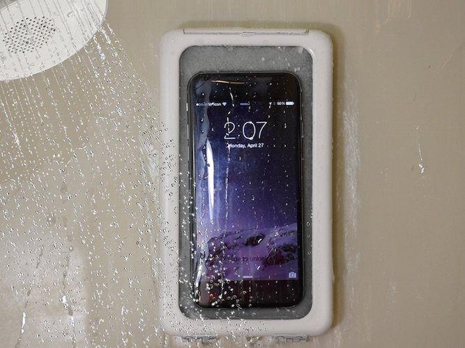 Shower Case Smartphone Holder   Smartphone holder, Smartphone, Smartphone  gadget