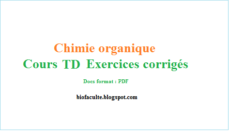 Chimie Organique Exercices Corriges Chimie Organique Chimie Organique