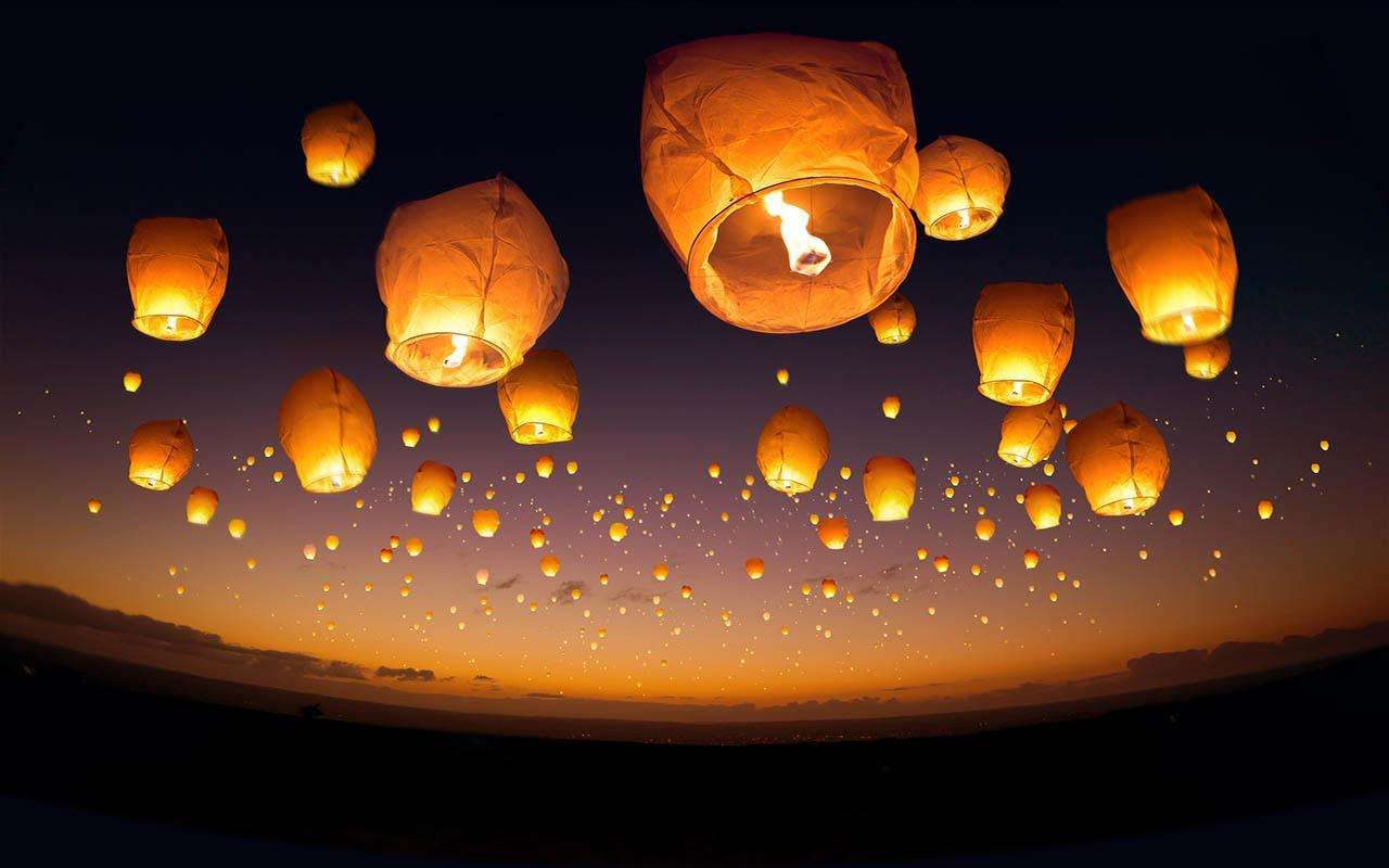 chinese-lantern-festival-wallpaper-15.jpeg (1280×800) | sky lantern ... for Flying Lantern Wallpaper  181pct