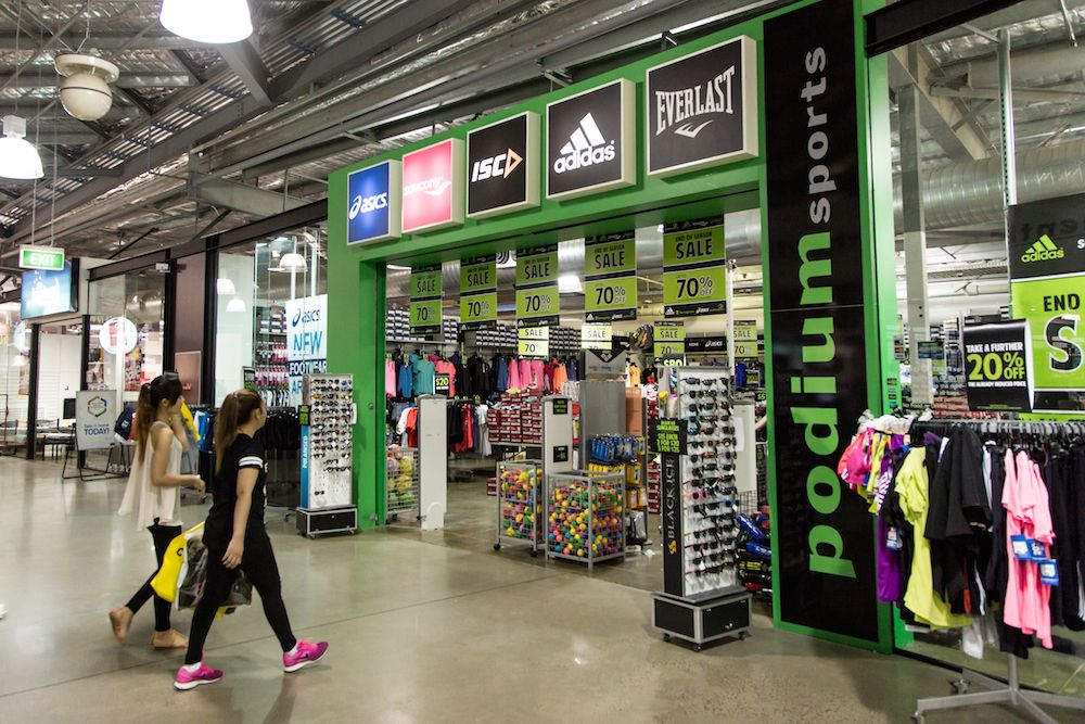 Check Out The Great Sales Happening At Podium Sports Great Brands