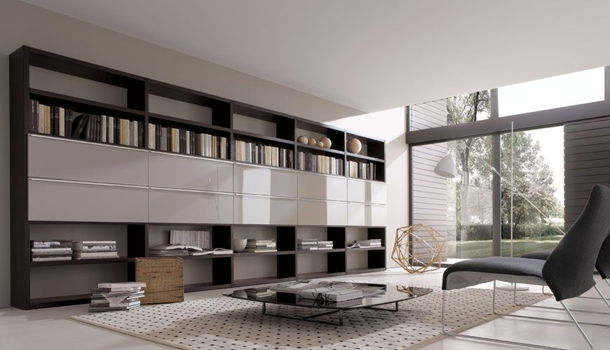 Book Storage Wall Units Crossing Living Room Wall Units Modern Living Room Wall Living Room Storage Unit #wall #units #storage #living #room