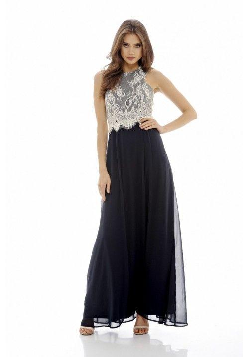 897fa50c41b Lace Top Maxi Dress
