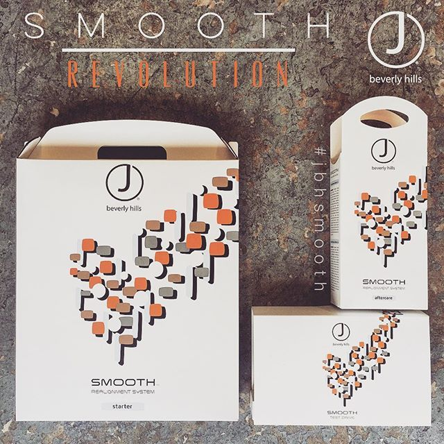 Have you ordered your SMOOTH yet? It's a brand new straightening system unlike any other. Formaldehyde Free, Botanically Based, Same Day Colour and so much more! Look how handsome it is  #jbhsmooth #smoothrevolution