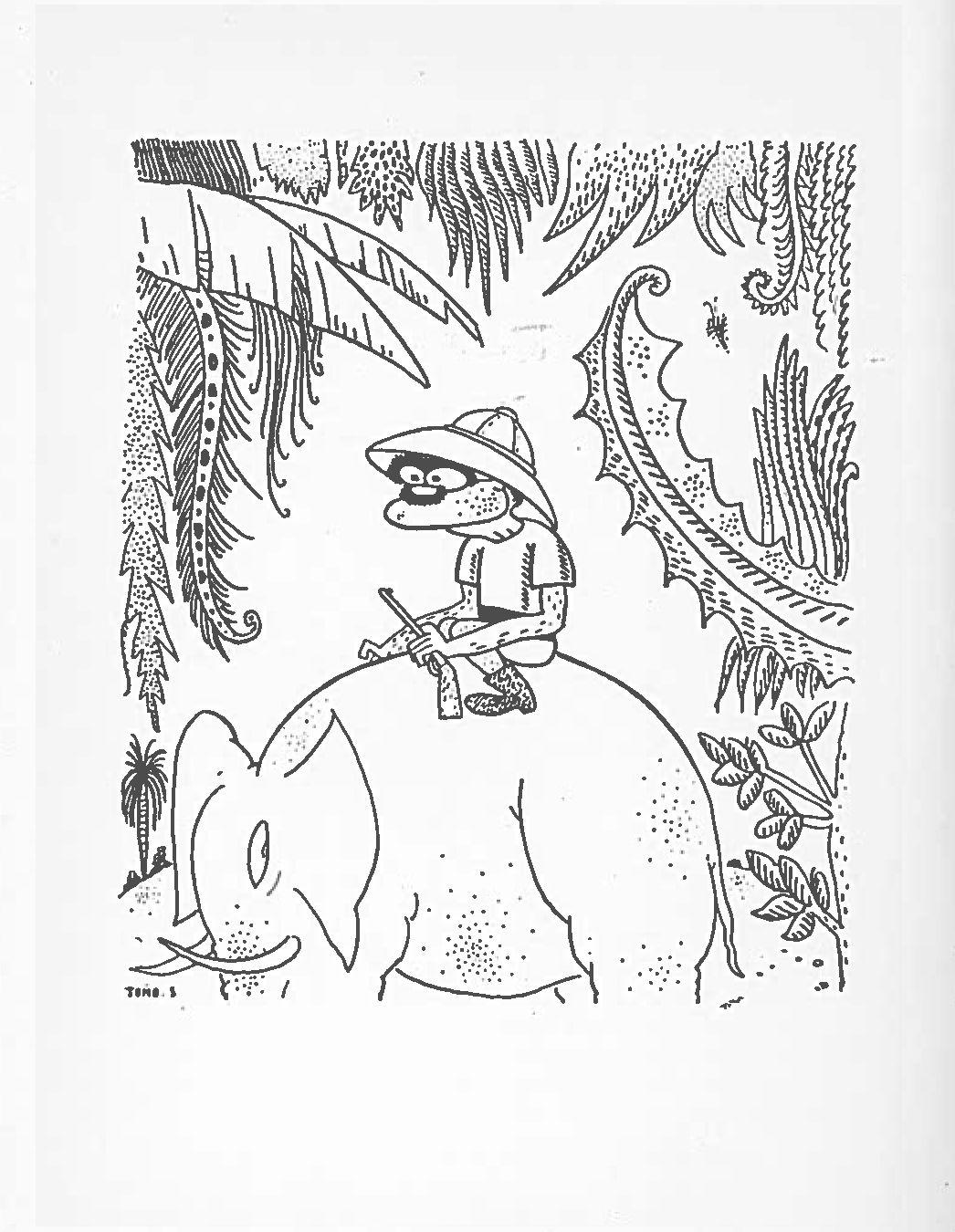 Rudyard Kipling By Tono Salazar Caricature Art Illustration