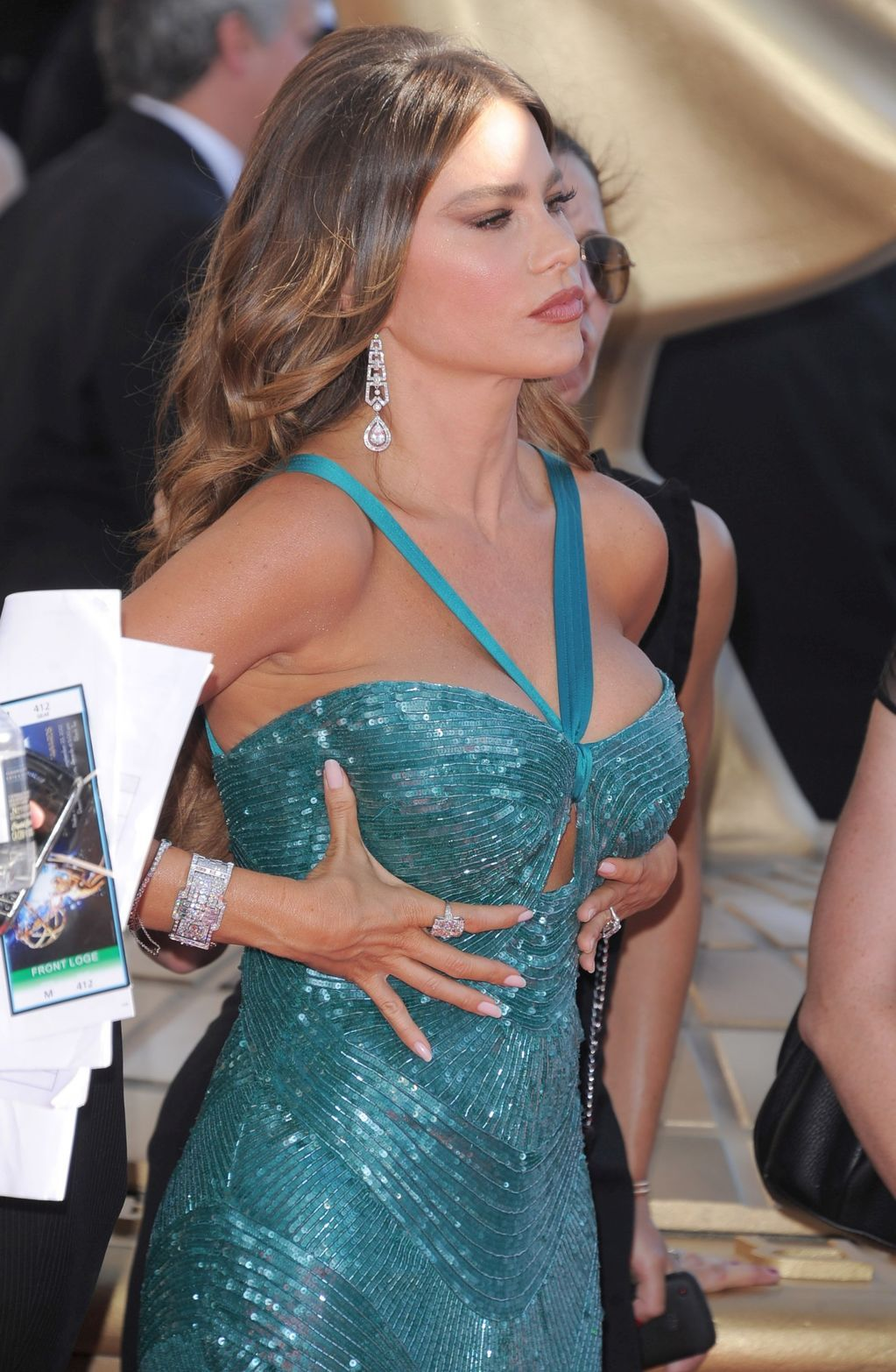 Sofia vergara real boob can suggest