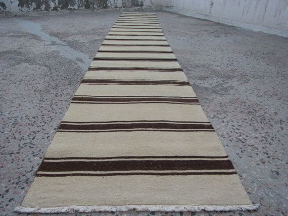 517 x 68 cm / 17x2.2 ft Organic Wool Traditional by zkrugs on Etsy