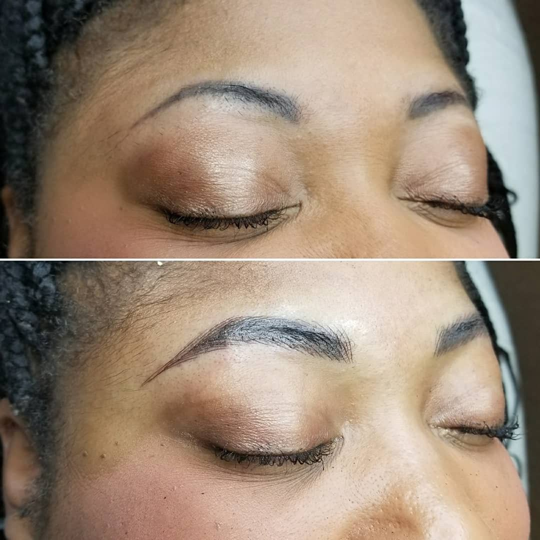 Pin by Brow Love Beauty Bar on Microblading Before