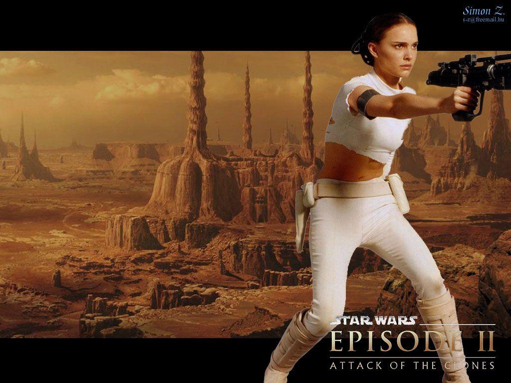 Star Wars Wallpaper More Star Wars Saga Wallpapers Natalie Portman Star Wars Amidala Star Wars Star Wars Episode Ii