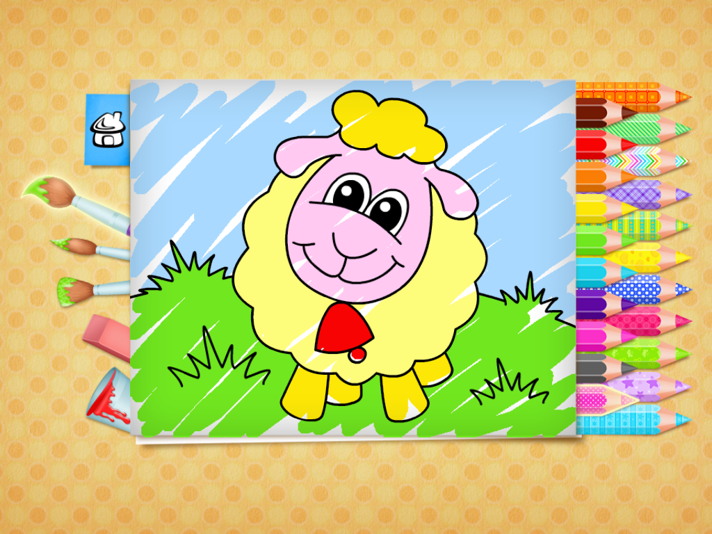 123 Kids Fun Coloring Book 123 Kids Fun Apps Coloring Books Free Easter Coloring Pages Color Games