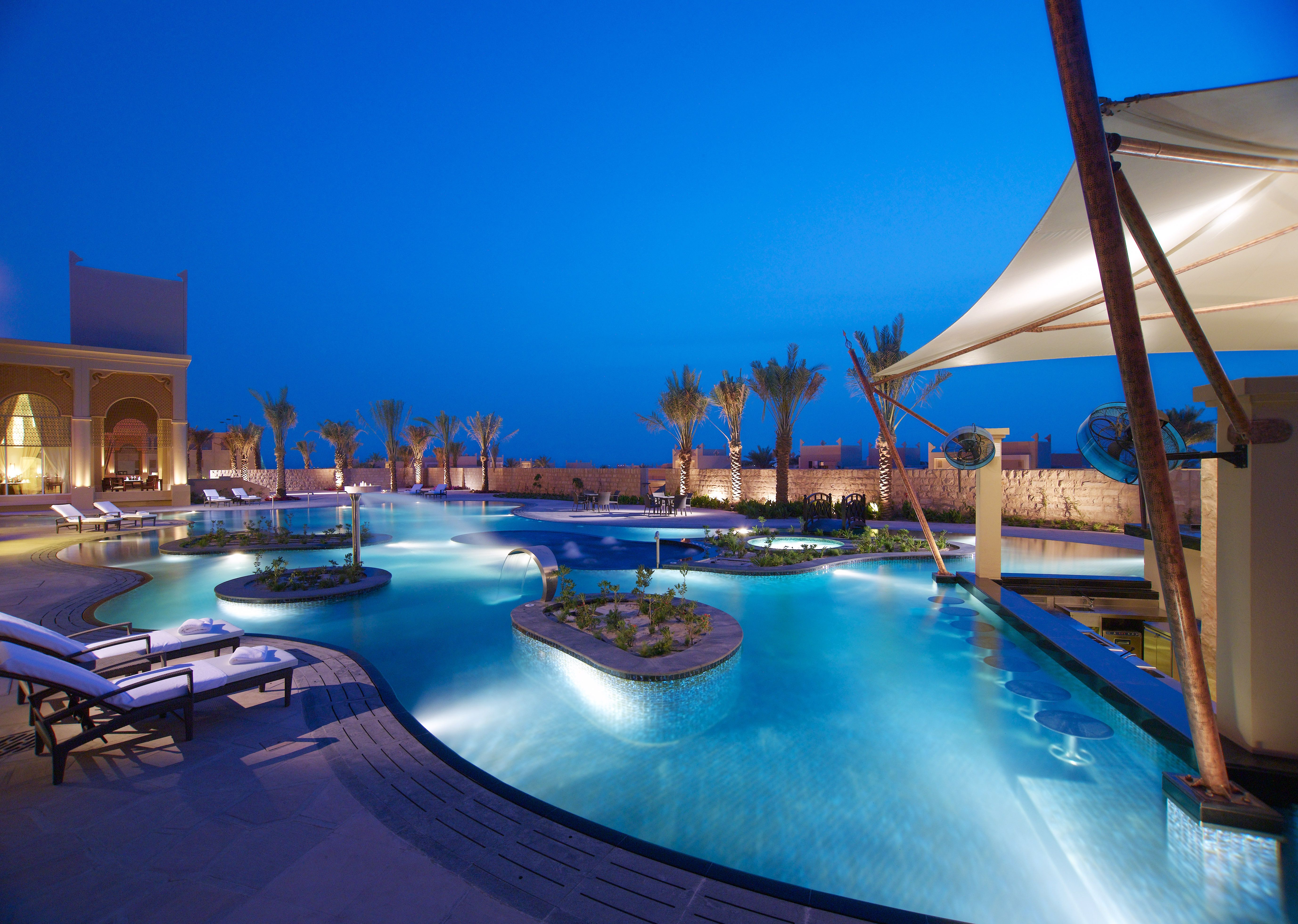 Al Areen Palace And Spa In Bahrain Is The Only All Villa Private Pool Resort