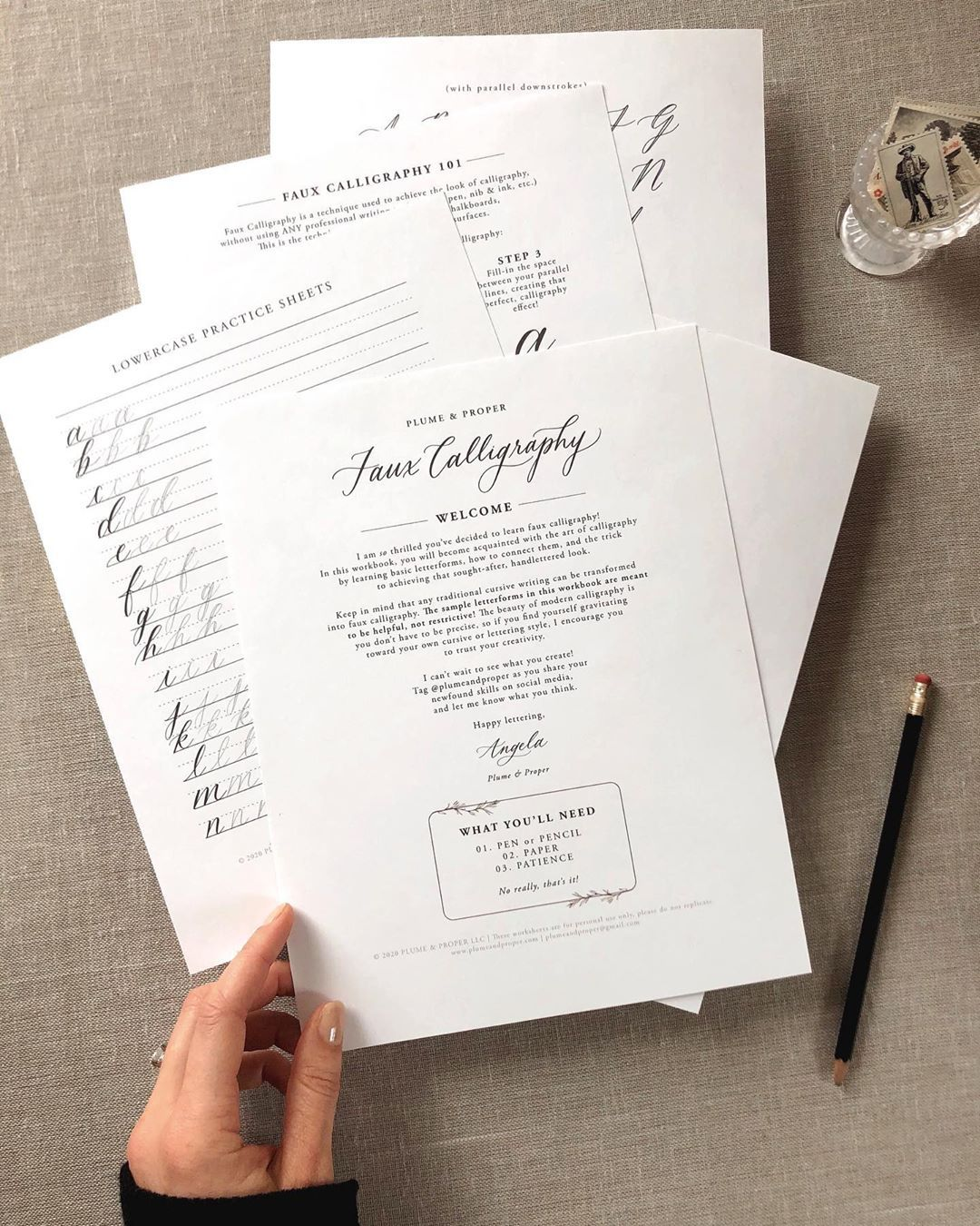 Start Learning Calligraphy Today No Art Supplies Or Good