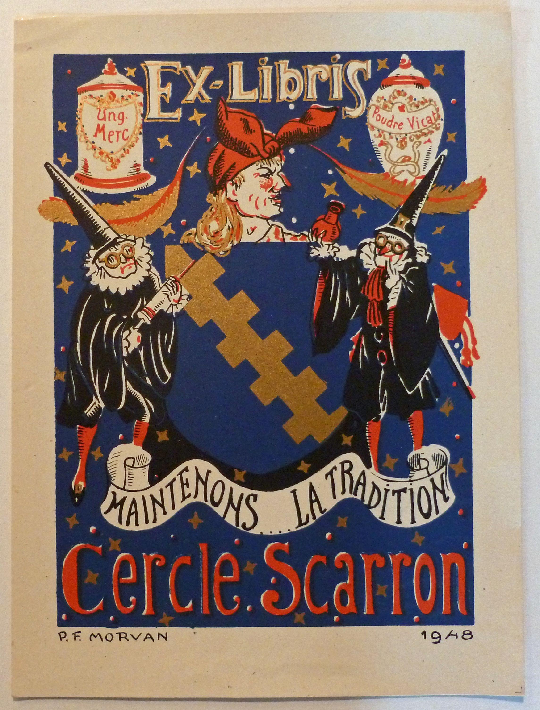 Cliché en couleurs , 1946 , FRANCE Morvan (P. F.). Ex
