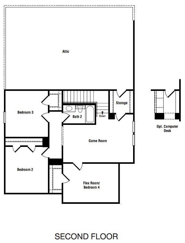 Villa 2 Floor Plans