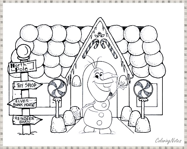 Olaf Frozen Christmas Coloring Pages For Kids Free Christmas Coloring Sheets Christmas Coloring Books Gingerbread Man Coloring Page