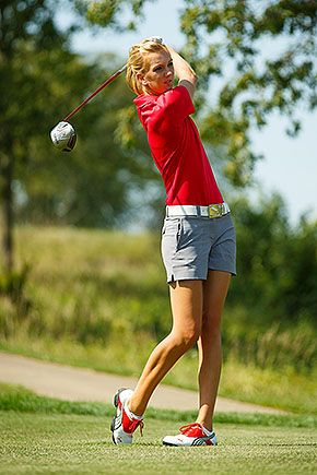 . at womenu2019s golf tourney - Womenu0026#39;s golf - Athletics - Central College | Random clothing ...