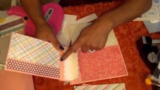Paper Bag Mini (Paper Phenomenon style) with my Twist! Part 2 of 3, via YouTube.