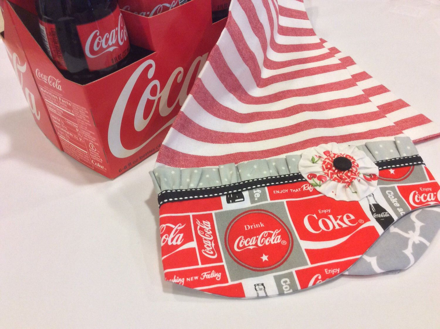 Coke Dish Towels/Coca Cola/Coke/Coke Kitchen/Coke Towels/Dishtowels