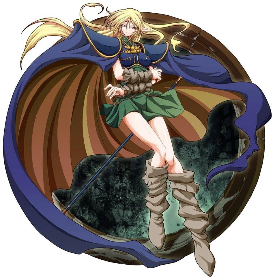Deedlit elfos anime rpg