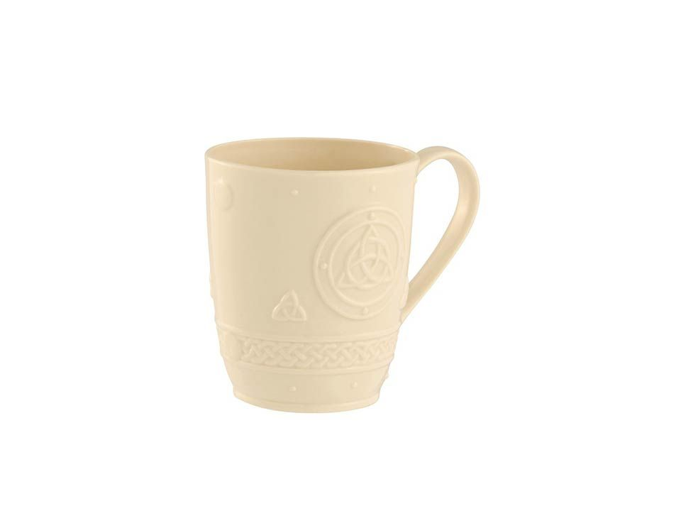 Belleek celtic mug set of 2 mugs set mugs belleek