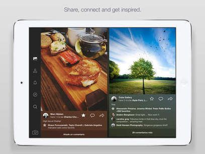 Flickr released awesome #ipad app to access and organize photos from