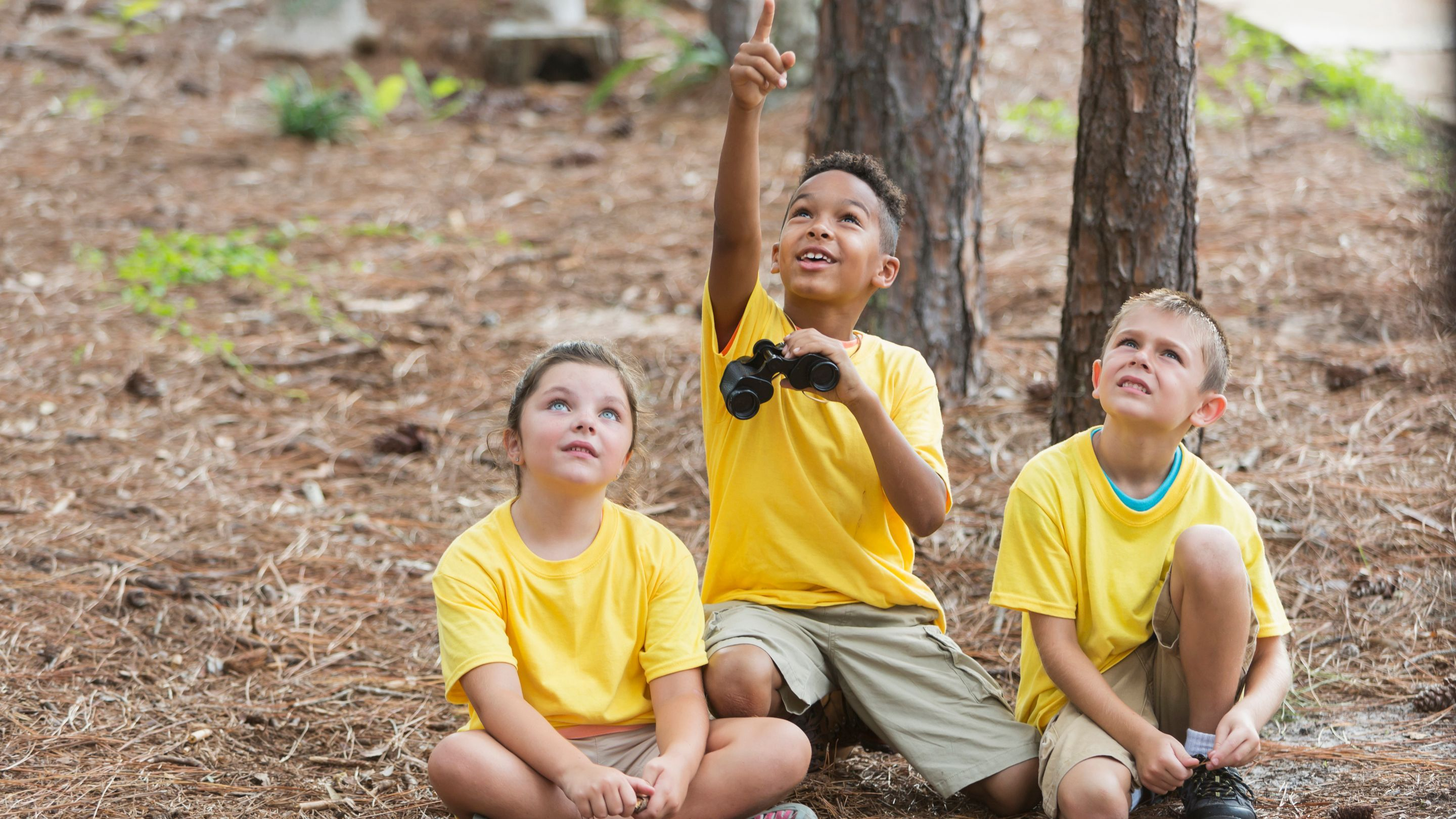 Getting Kids Outdoors With Technology